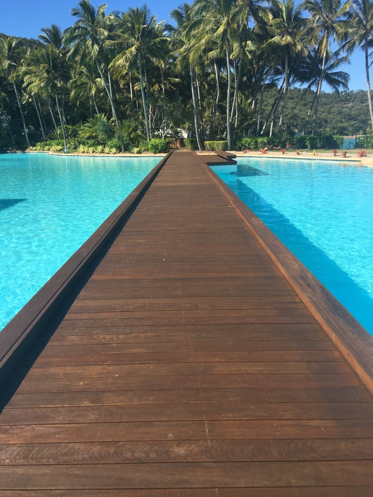 A Wooden Floor On Waters at Hayman Island