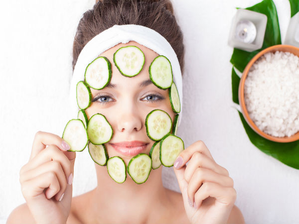 All Natural Cucumber Face Mask