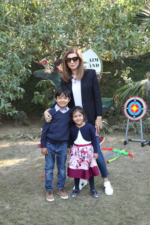 Akbar, Rayna and Rabiya