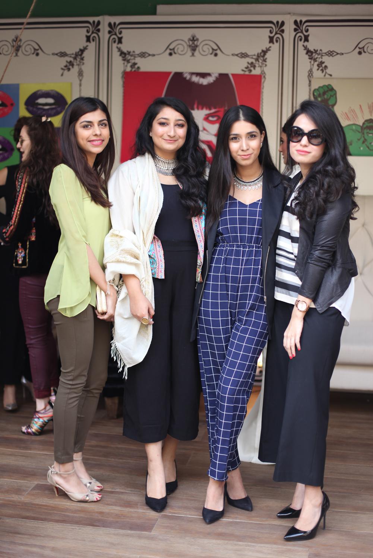 Anush, Mishael, Shyreen and Minal