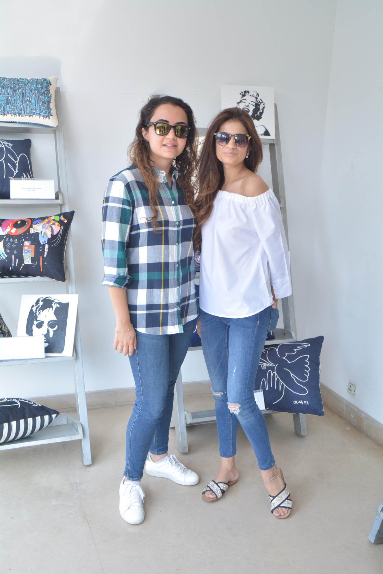 Fatima Afzl and Sada Parekh