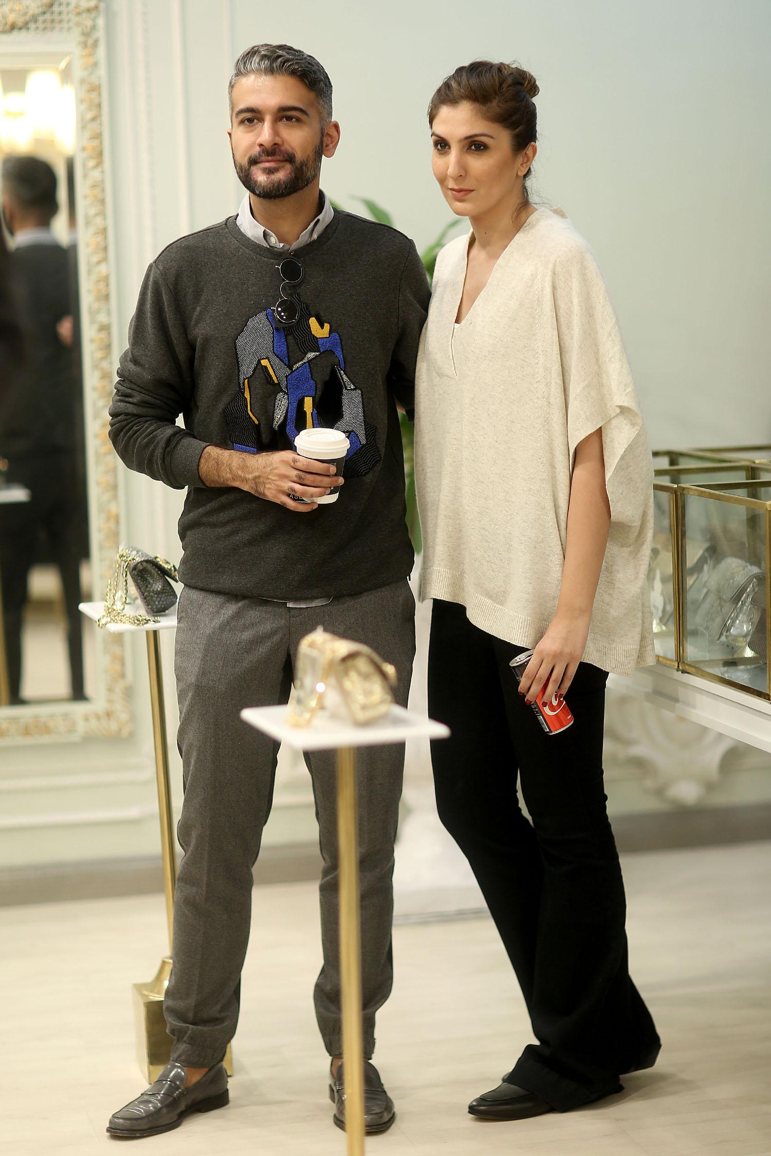 Khadija Shah and Yousaf Shahbaz
