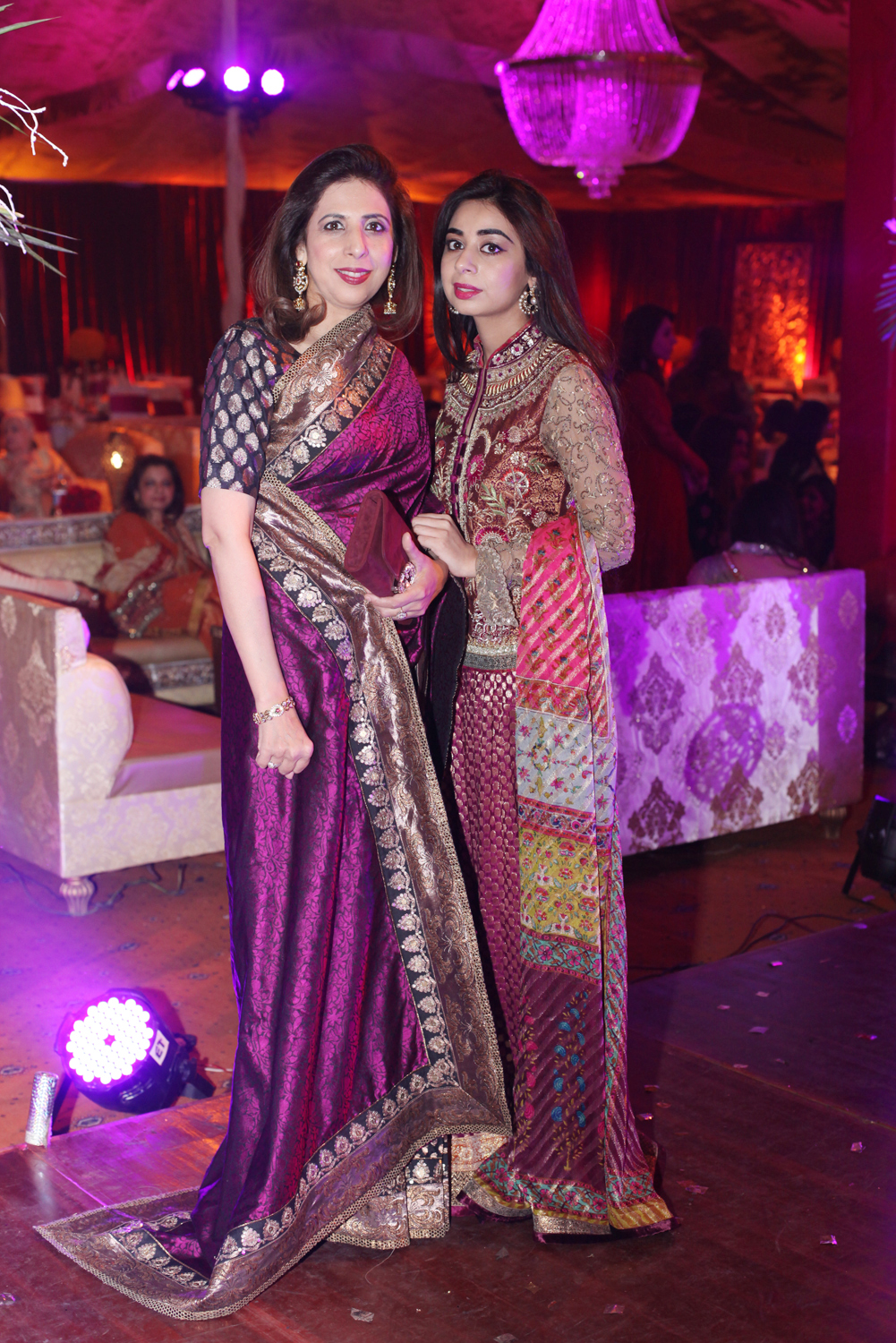 Meher Tata and Sana