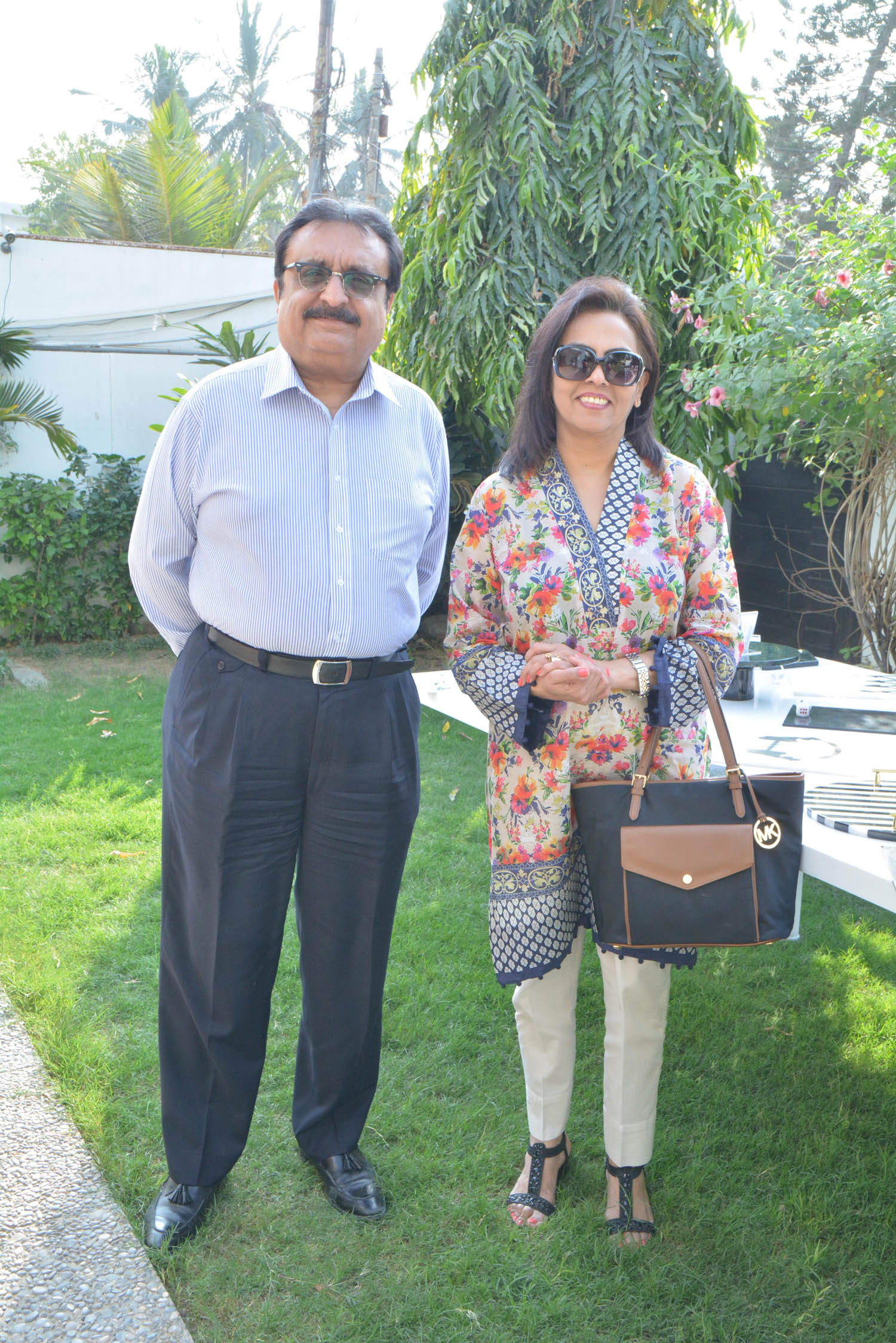 Mr. and Mrs. Fazal Mehmood