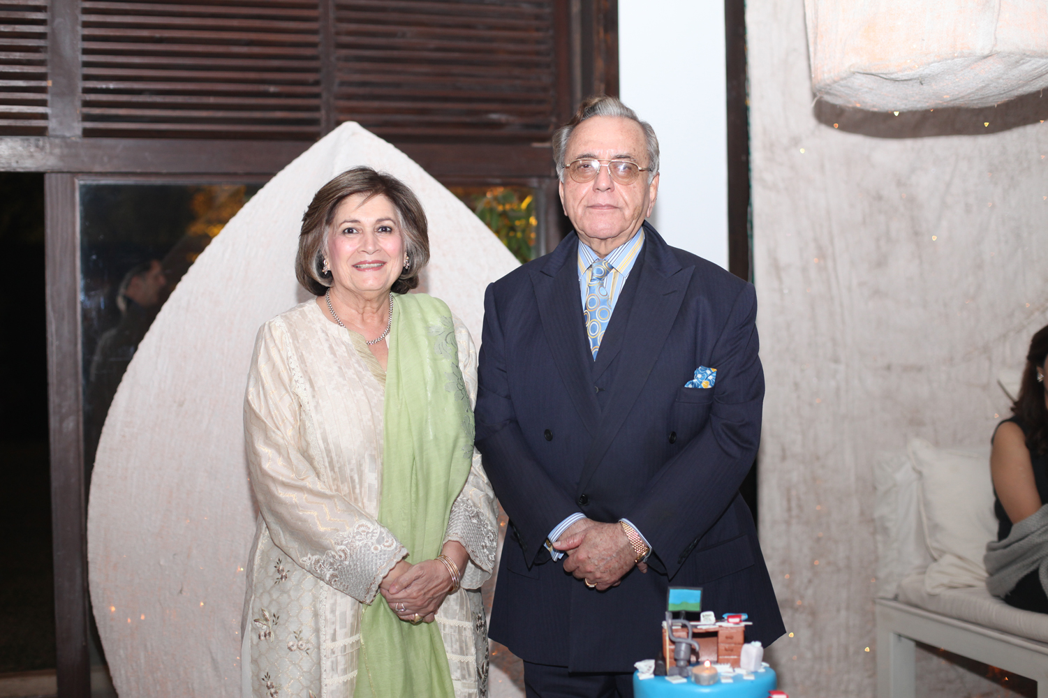 Mr. and Mrs. Mehmood Kasuri