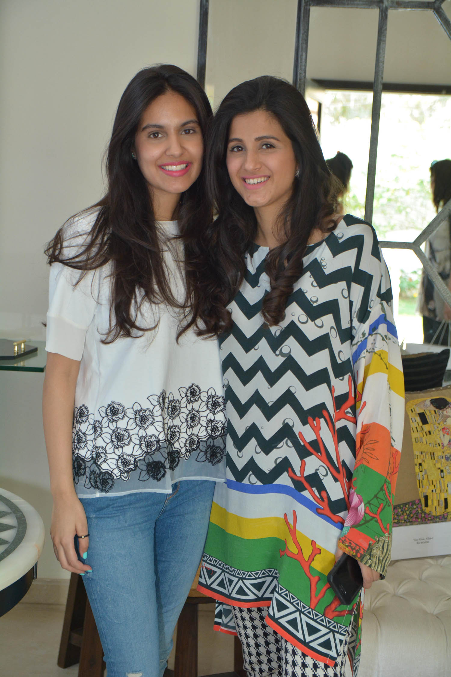 Shahrina Hashwani and Cyra Ali