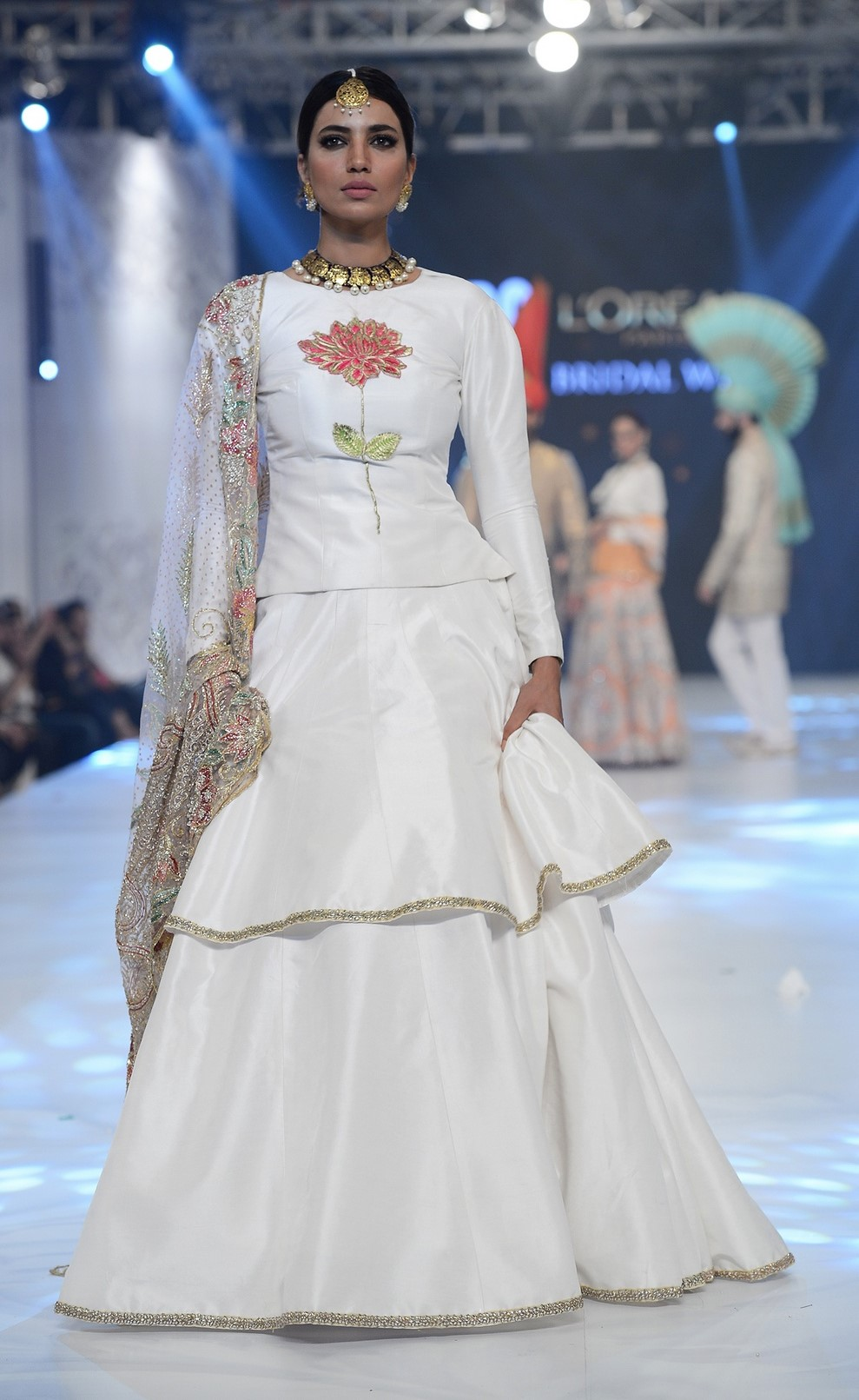 Ali Xeeshan pays ode to the classics with this white lengha choli
