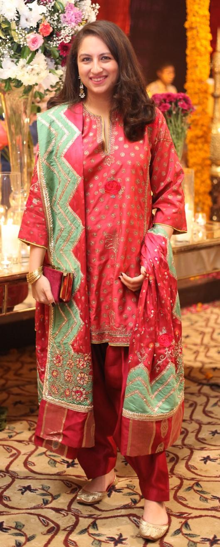 Alizah Raza goes ethnic chic