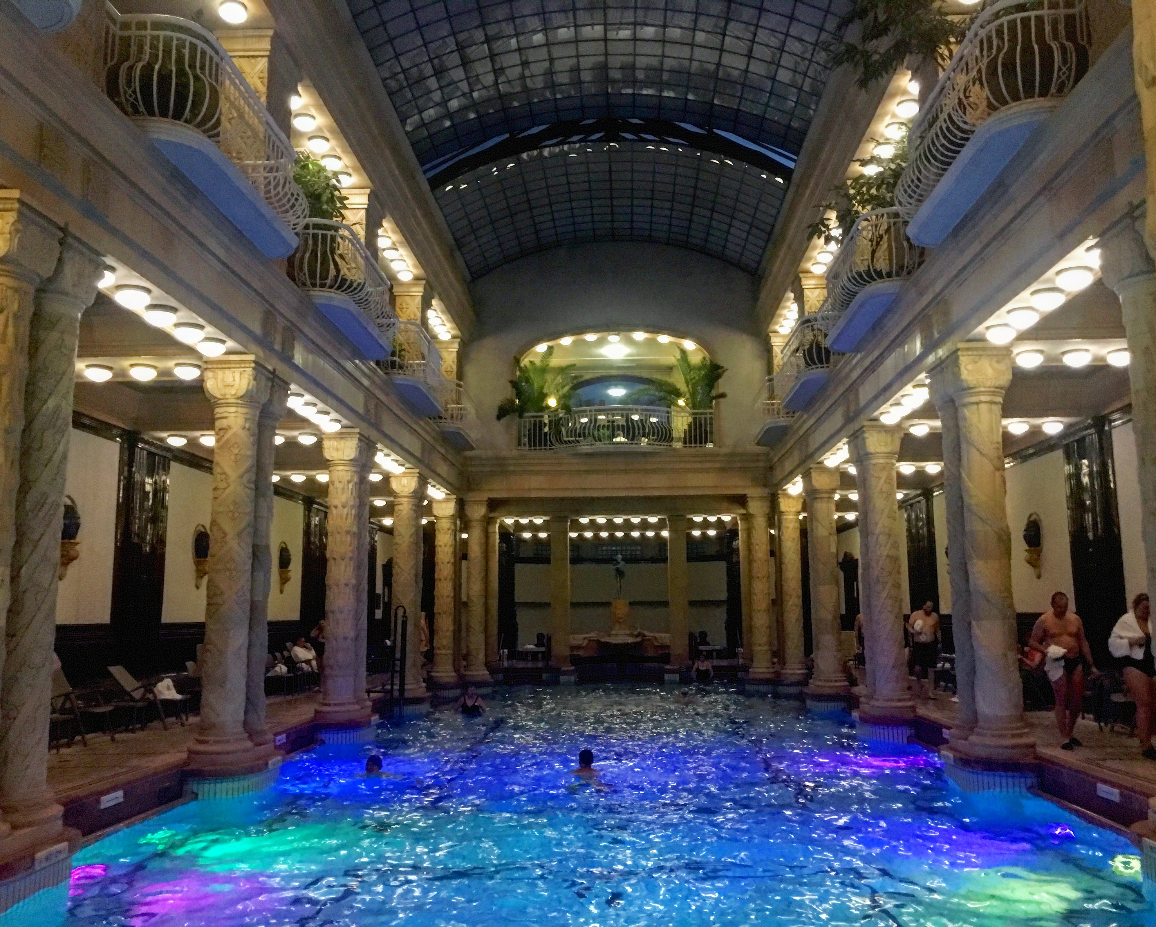 Budapest is famous for its thermal spas- Gellert Spa.