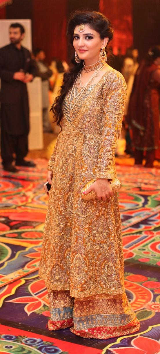 Gulrukh Shafiq channels ethnic glamour