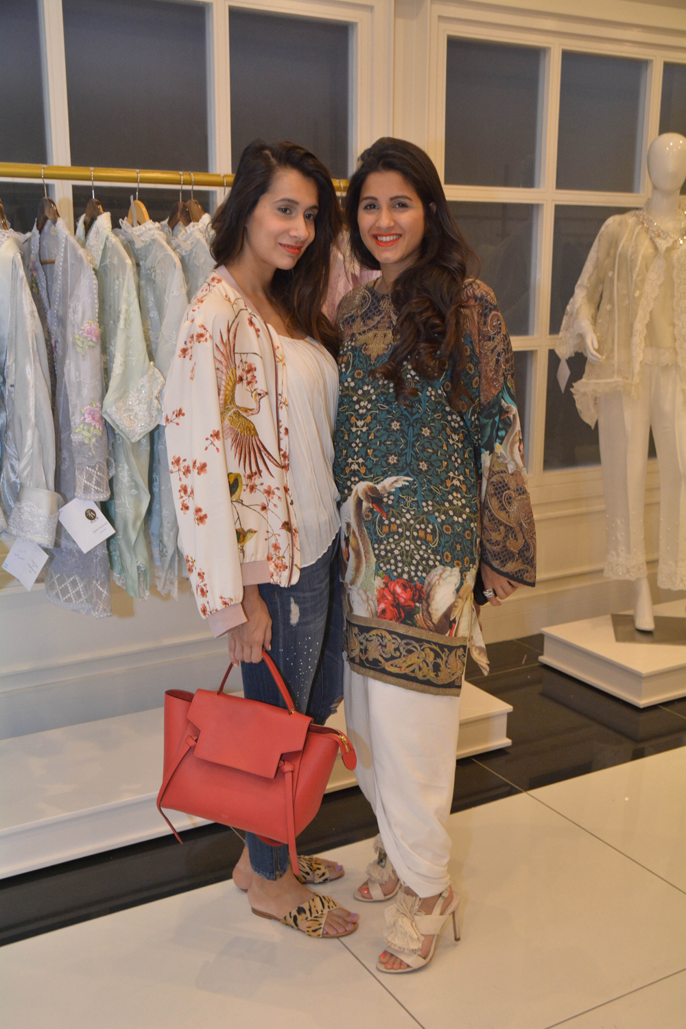 Ayesha Bari and Cyra Ali