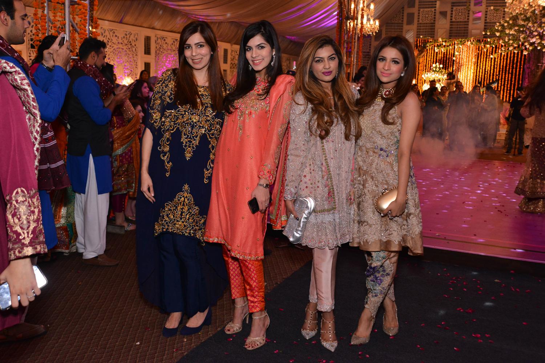 Areej, Faryal, Nisha and Soha Hafeez