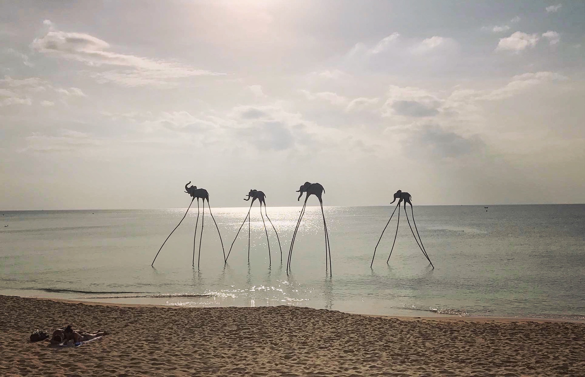 Art Installations at the Beach for Epizode Festival in Vietnam
