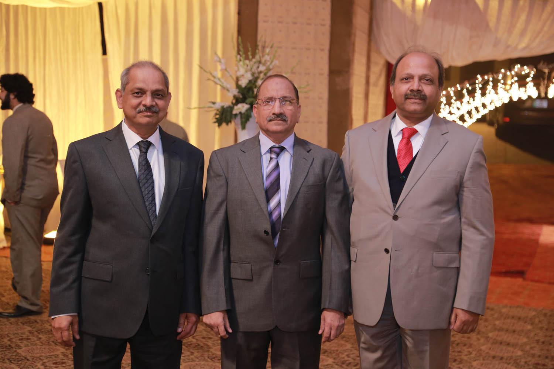 Dr.Arif, Dr.Imtiaz, and Dr.Ashraf Nizami