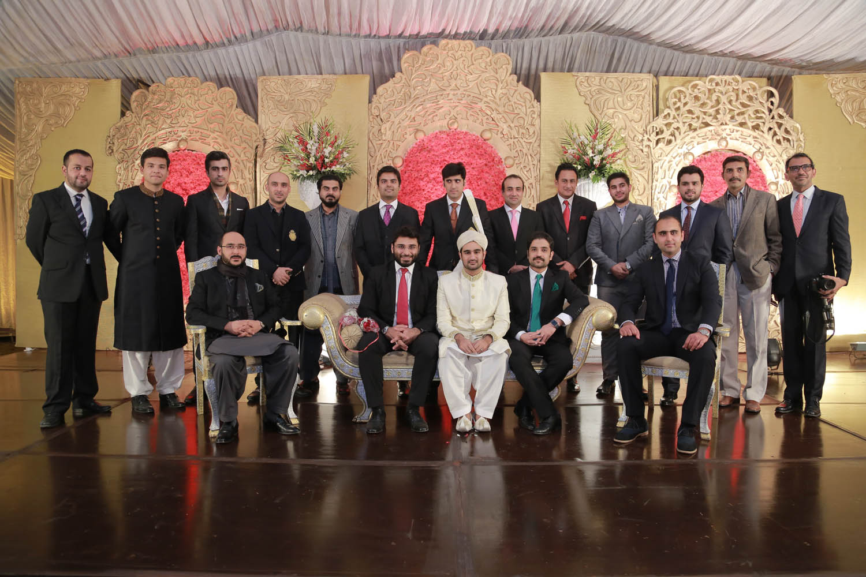 Faiq Husain with Friends