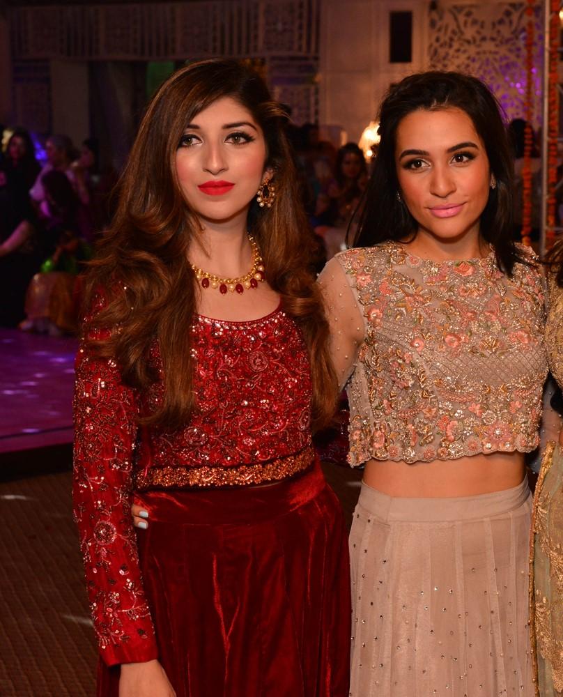 Maham and Sana Ansari