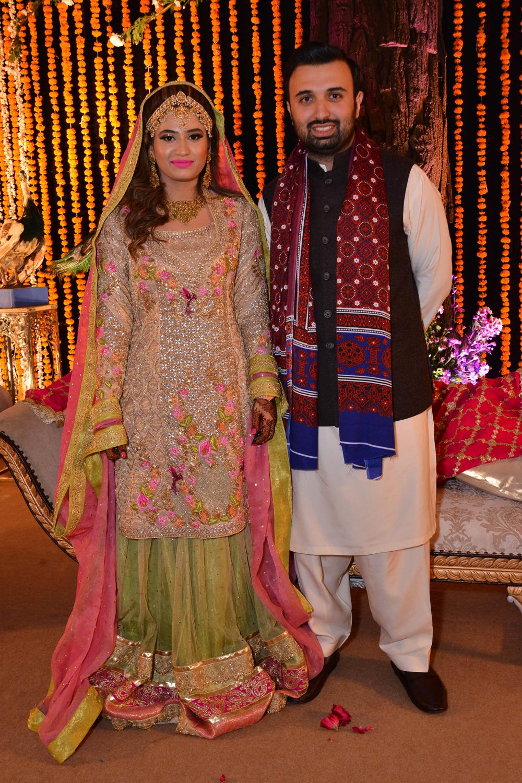 Maham Malik and Saqib Rehman