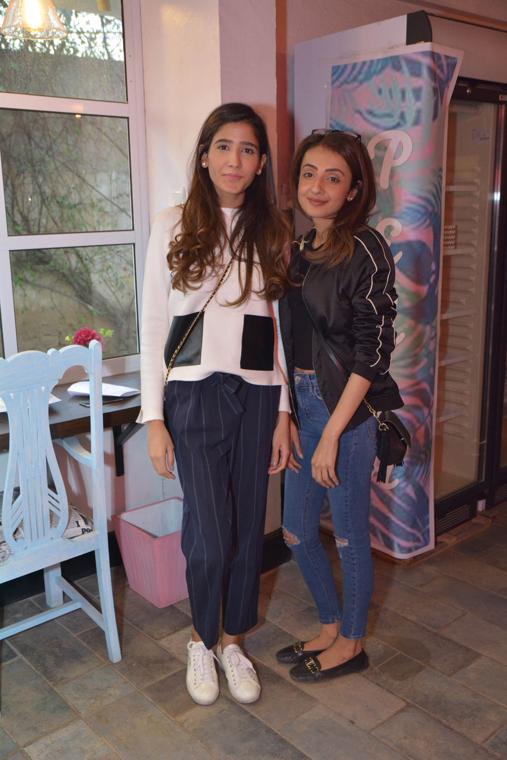 Manahyl Shafi and Haya Ijaz