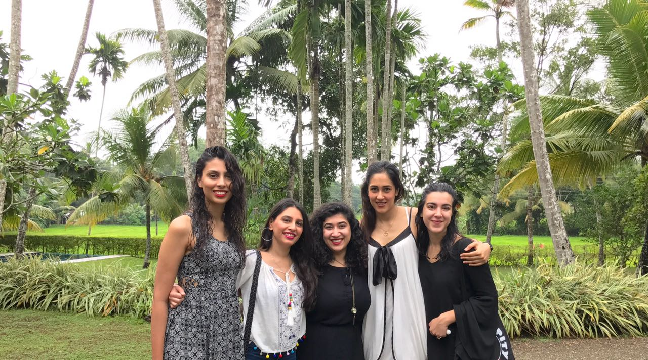 Our crew - Myra, Abeera, Maryam, Mehru and myself