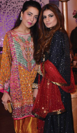 Maliha Aziz and Sada Parekh