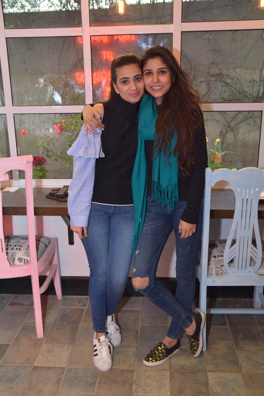 Zainab Parekh and Anam Jangda