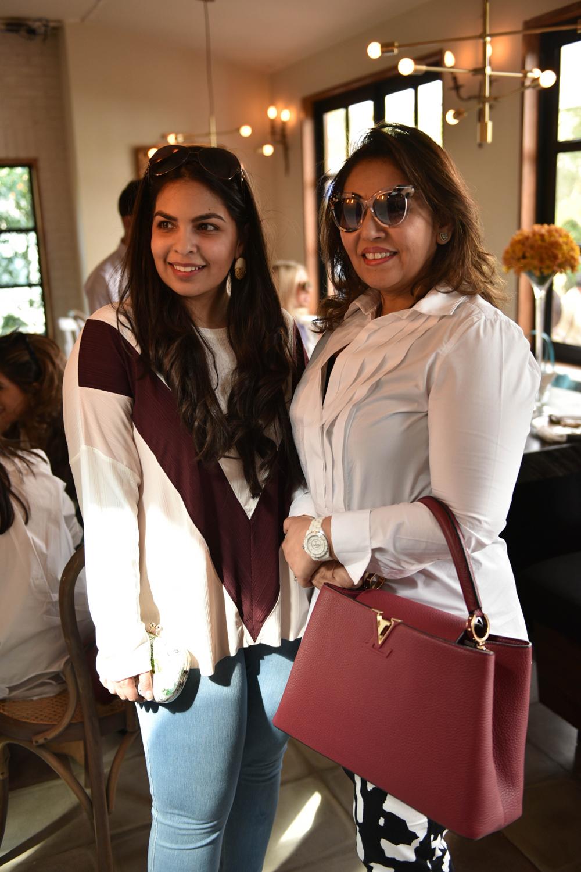 Anusha Bawany and Saeeda Mandviwalla