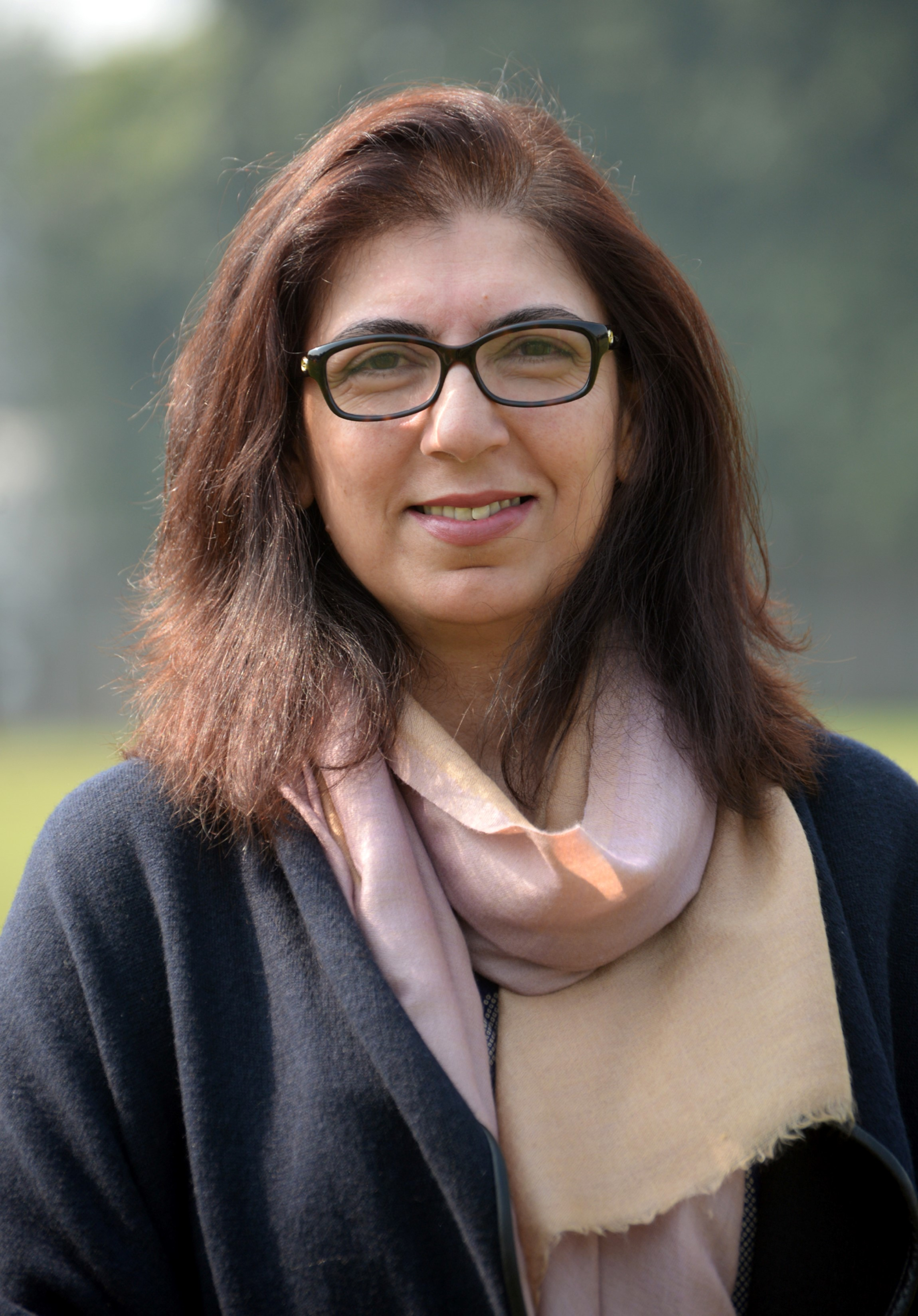 Ms. Farezeh Durrani - Project Head Alpha Pakistan