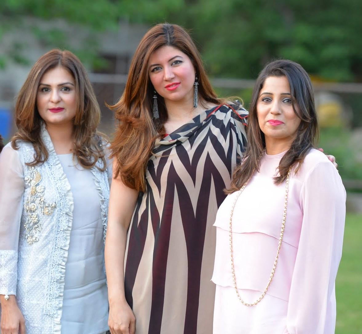 Huria, Shafaq & Nosheen