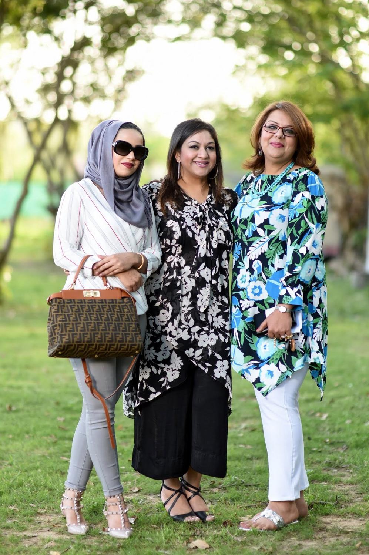 Maria, Rubab & Irum