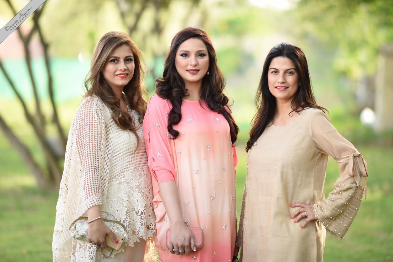 Qudsia, Mariam Gohar & Maryam