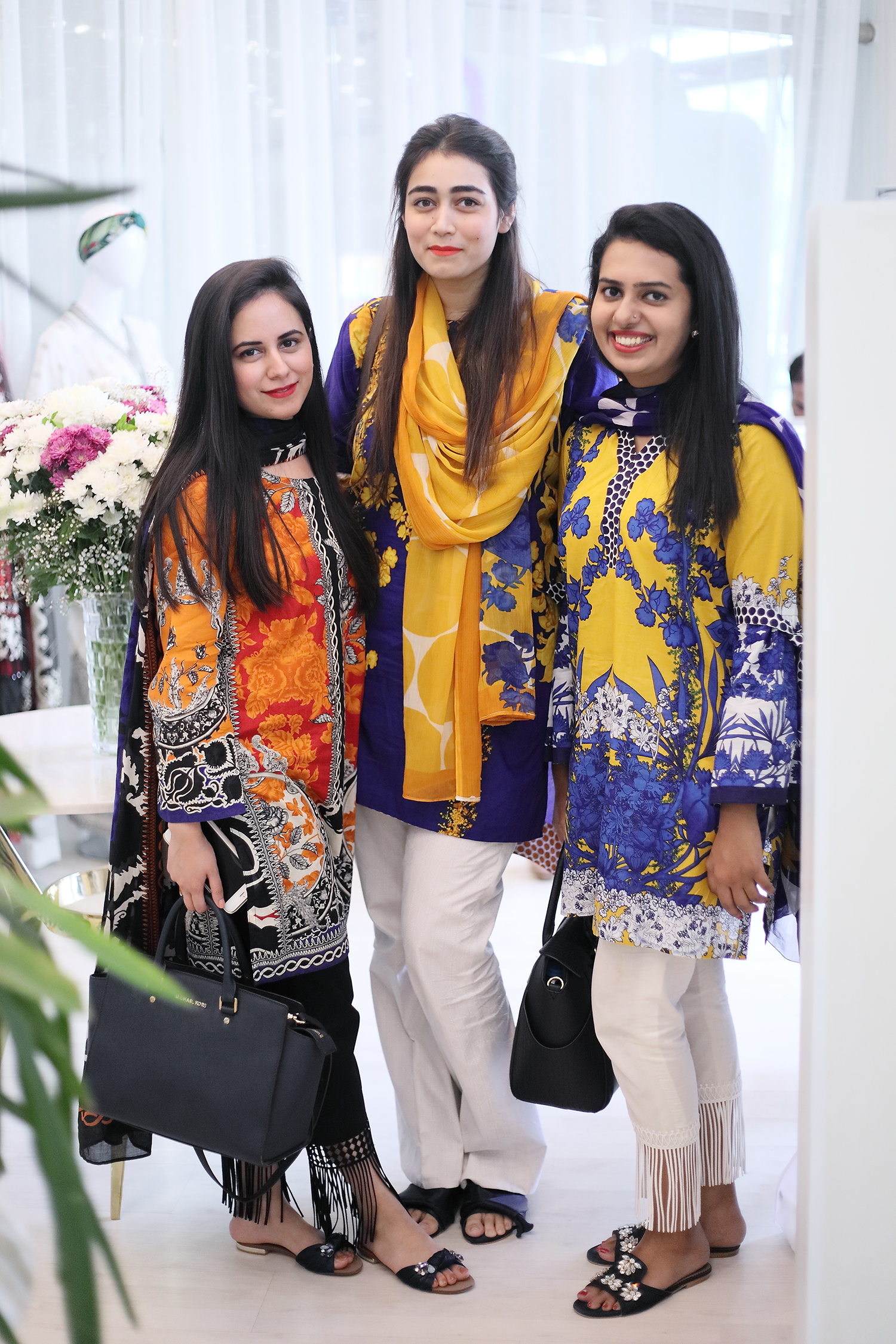 Najia, Gul and Rida