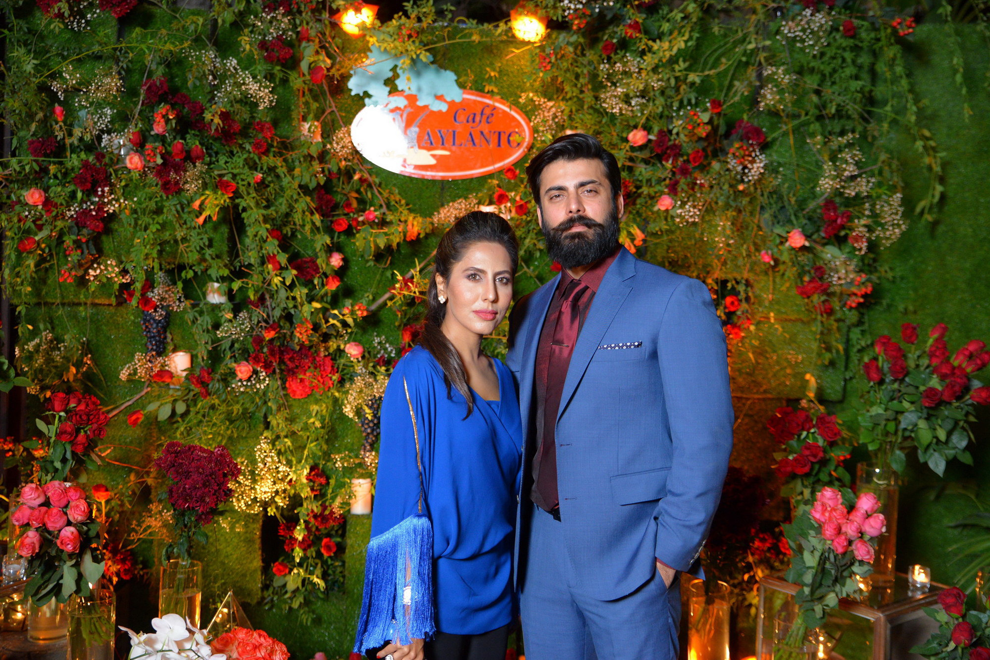 Sobia Nazir and Fawad Khan