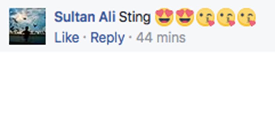 Minal comments FB