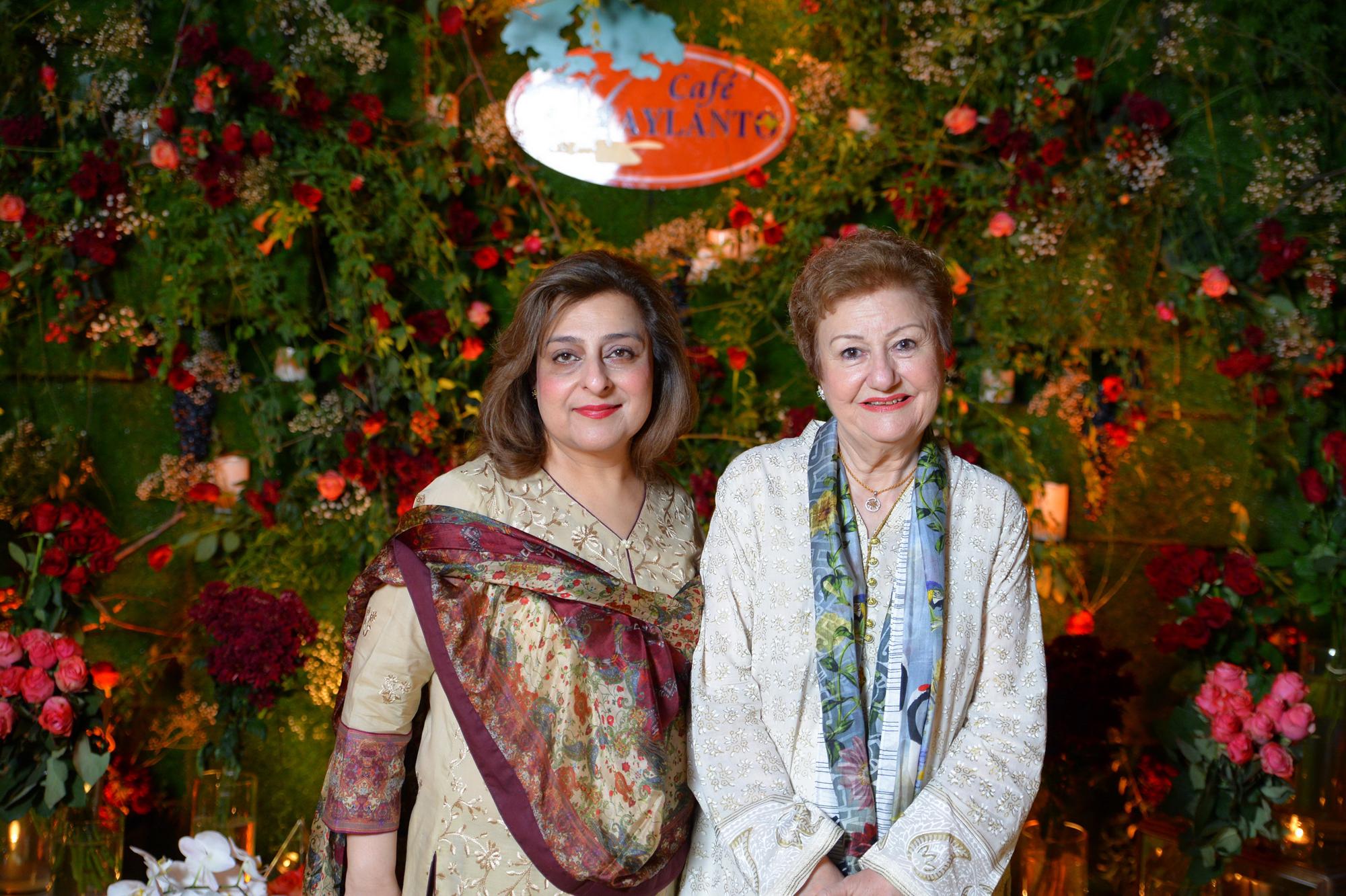 Najla and Aliya
