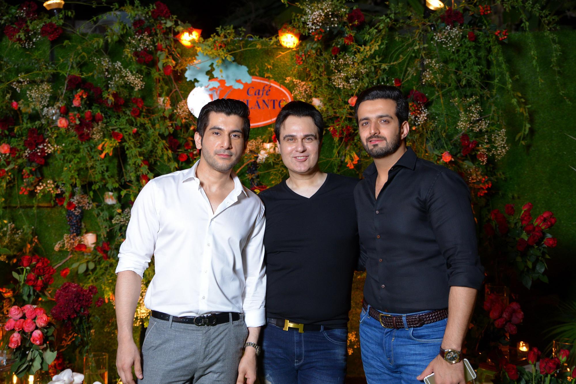 Shahriyar , Rezz Aly Shah and Taimoor