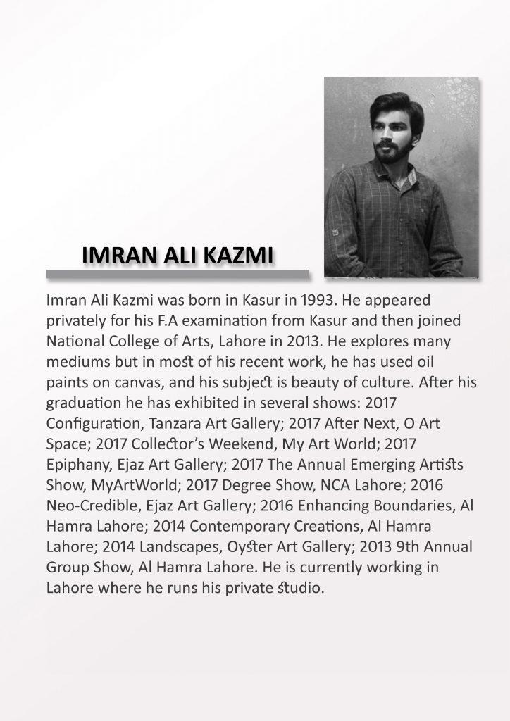 Imran Ali Kazmi 1