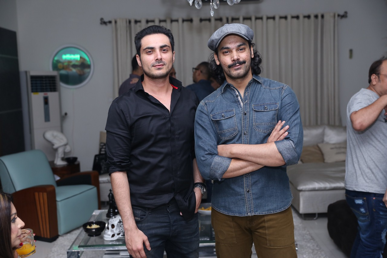 Bilal Lashari and Gohar Rasheed