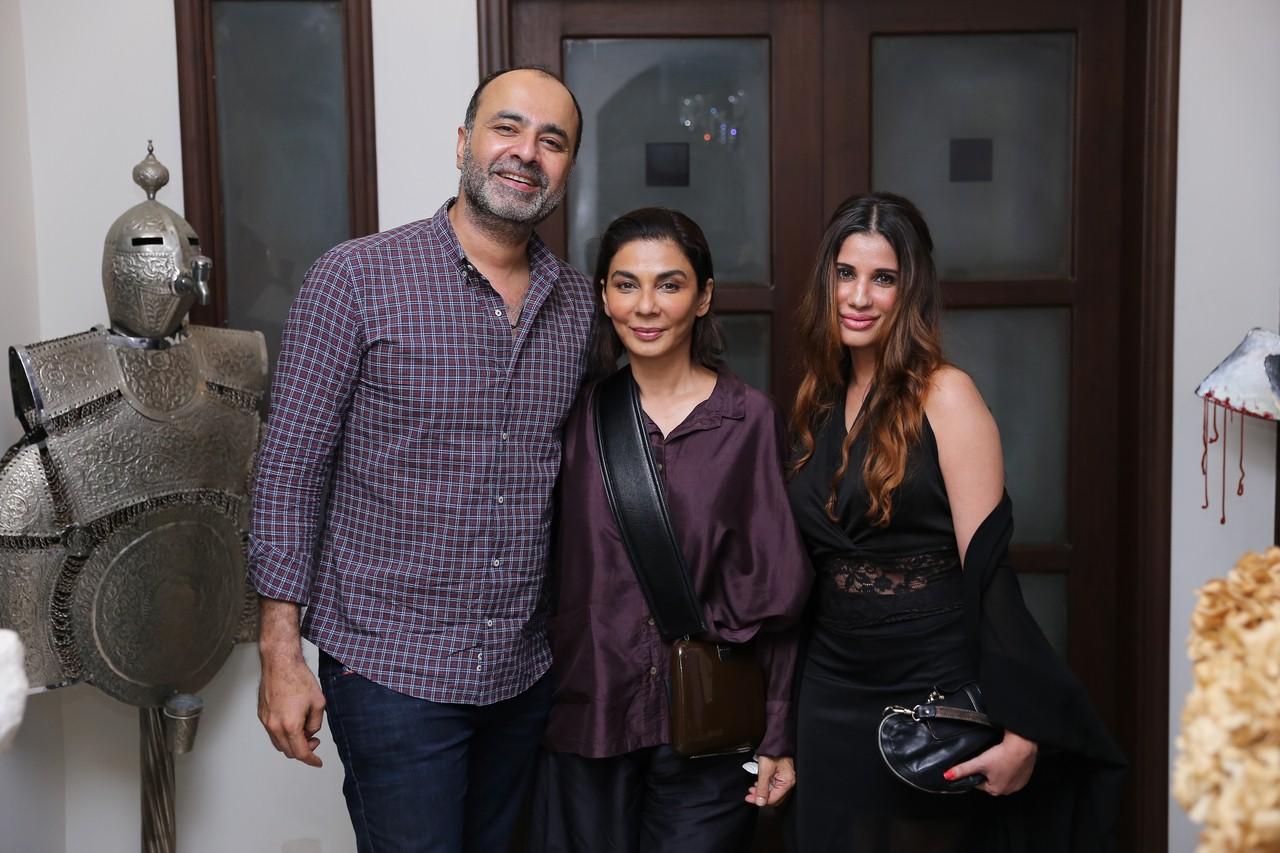 Deepak, Nabila and Syma
