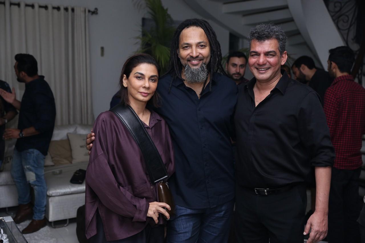 Nabila, Immu & Adil Mirza