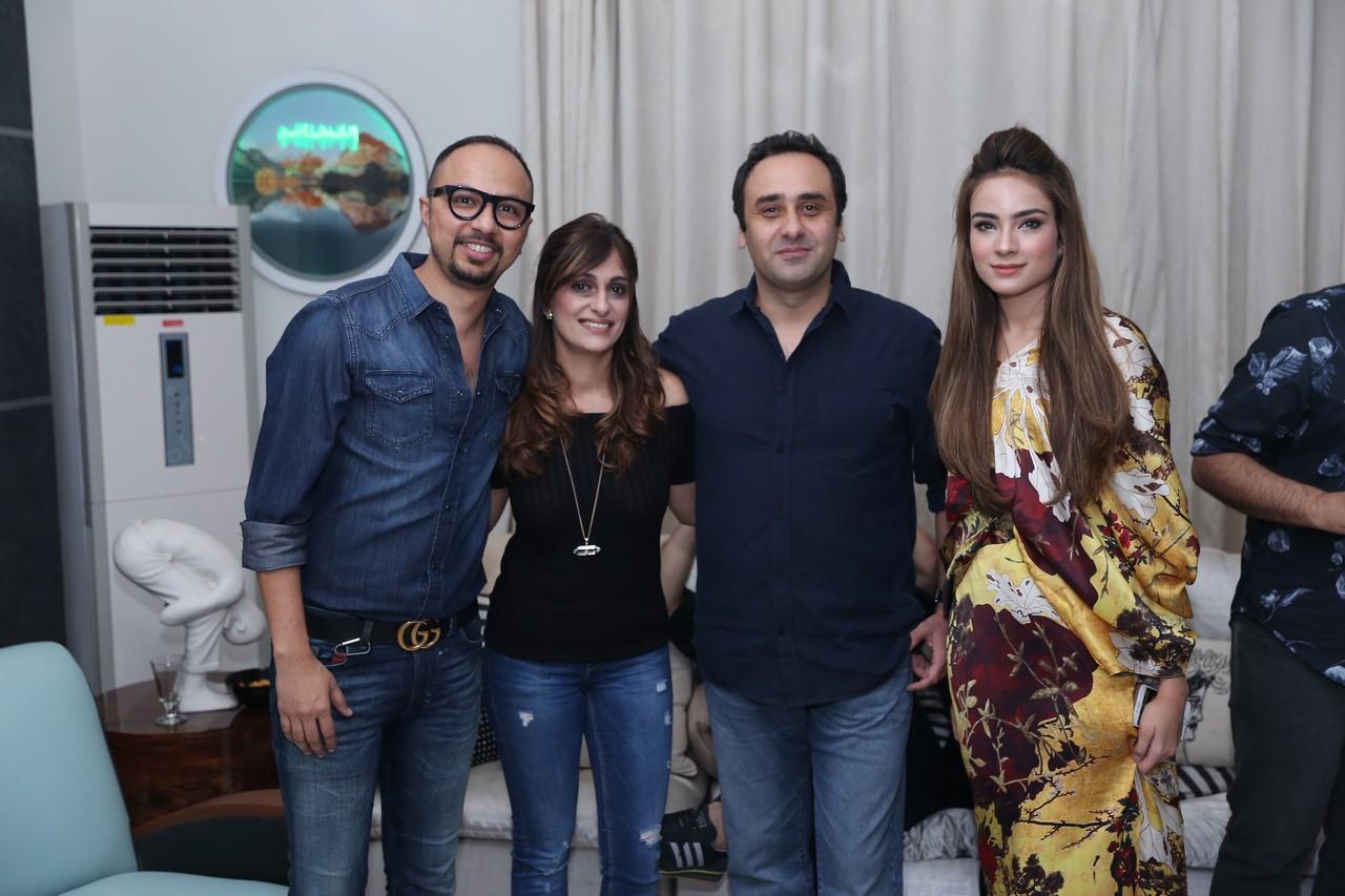 Nomi Ansari, Mr. & Mrs. Wajahat Rauf & Alyzeh Gabol