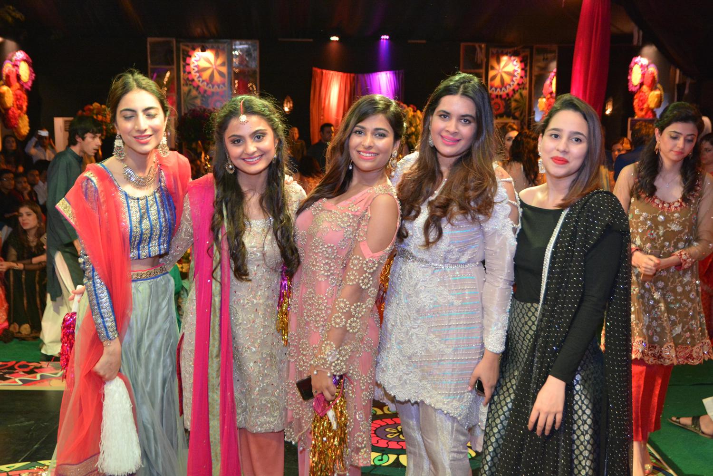Rida, Sara, Zoya, Manaal and Shanzae
