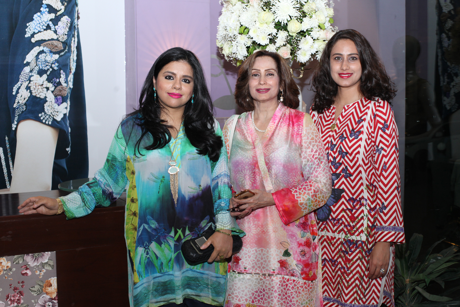 Ayesha, Nahid and Aisha Kardar
