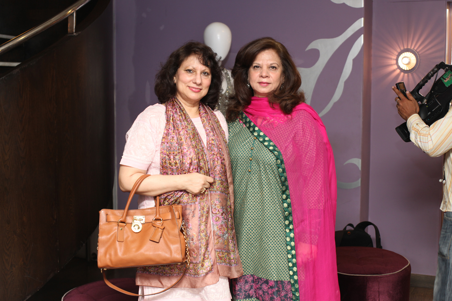 Maliha Khalid and Sabia Ali