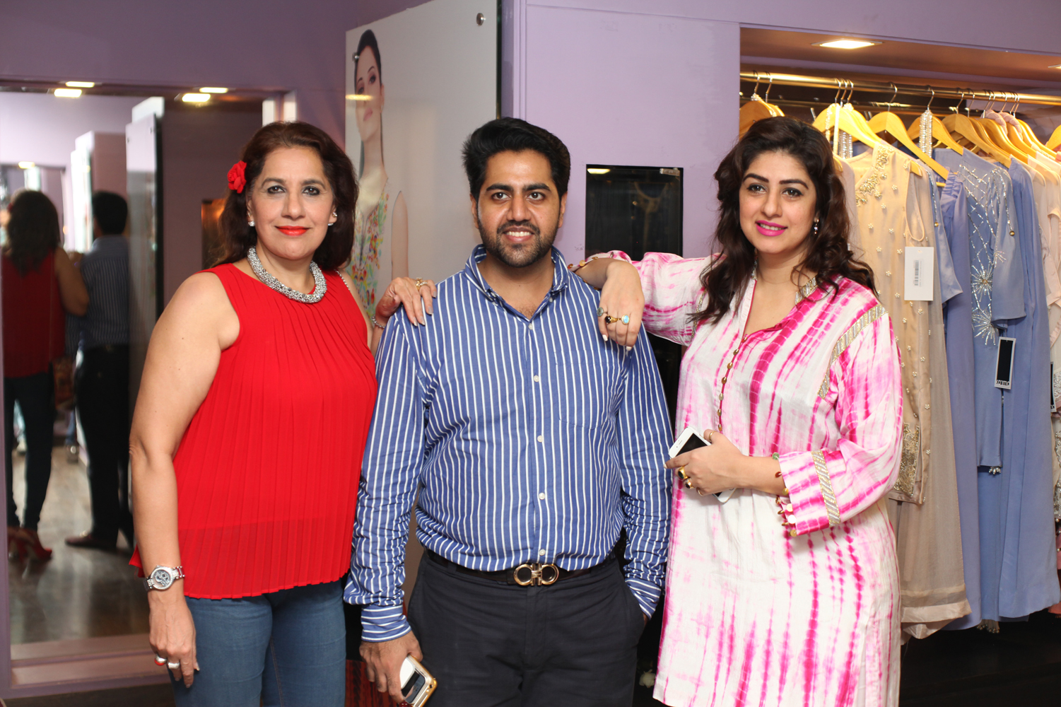 Uzma, Ahmad and Amna Kardar