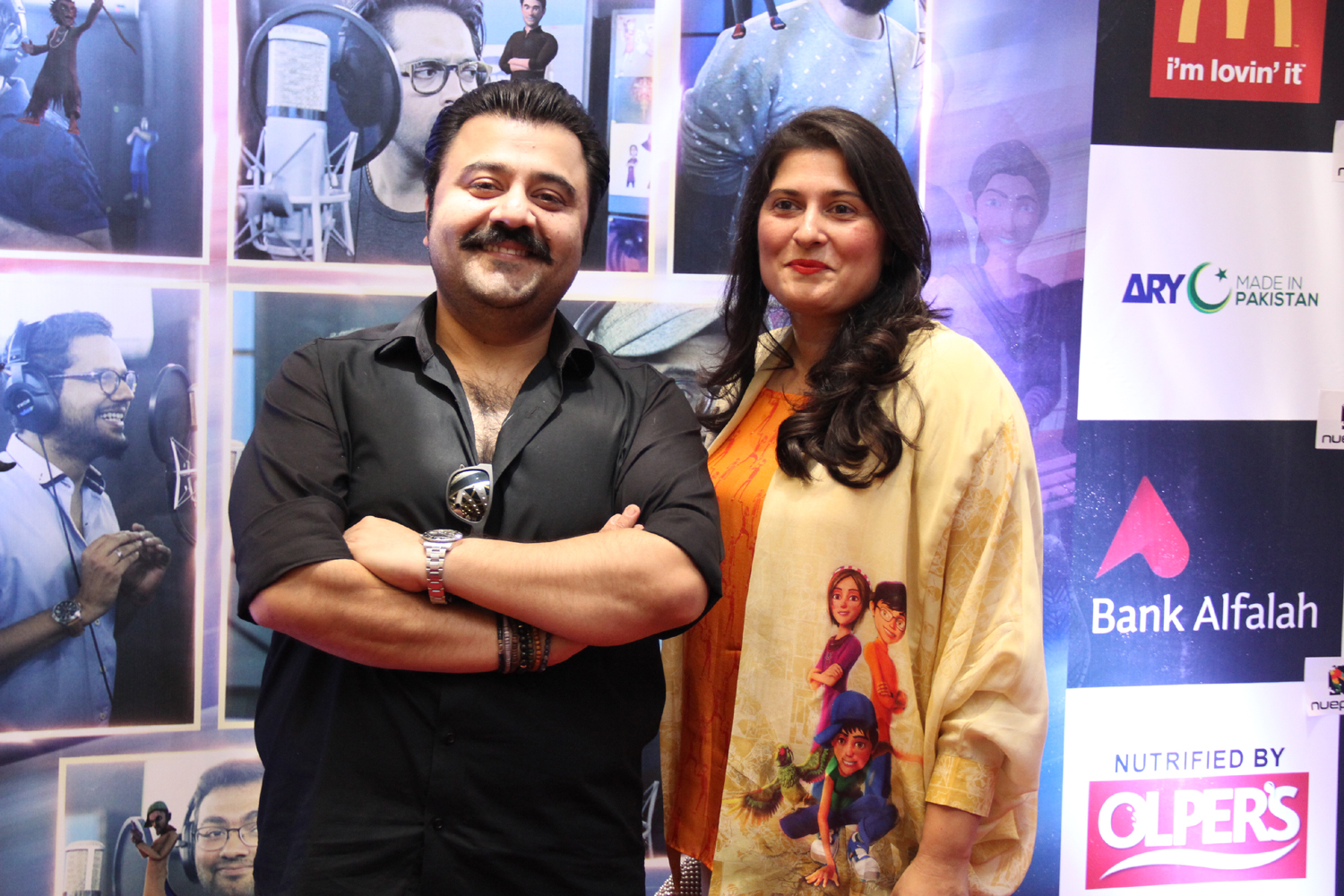 Ahmed Ali Butt and Sharmeen Obaid Chinoy