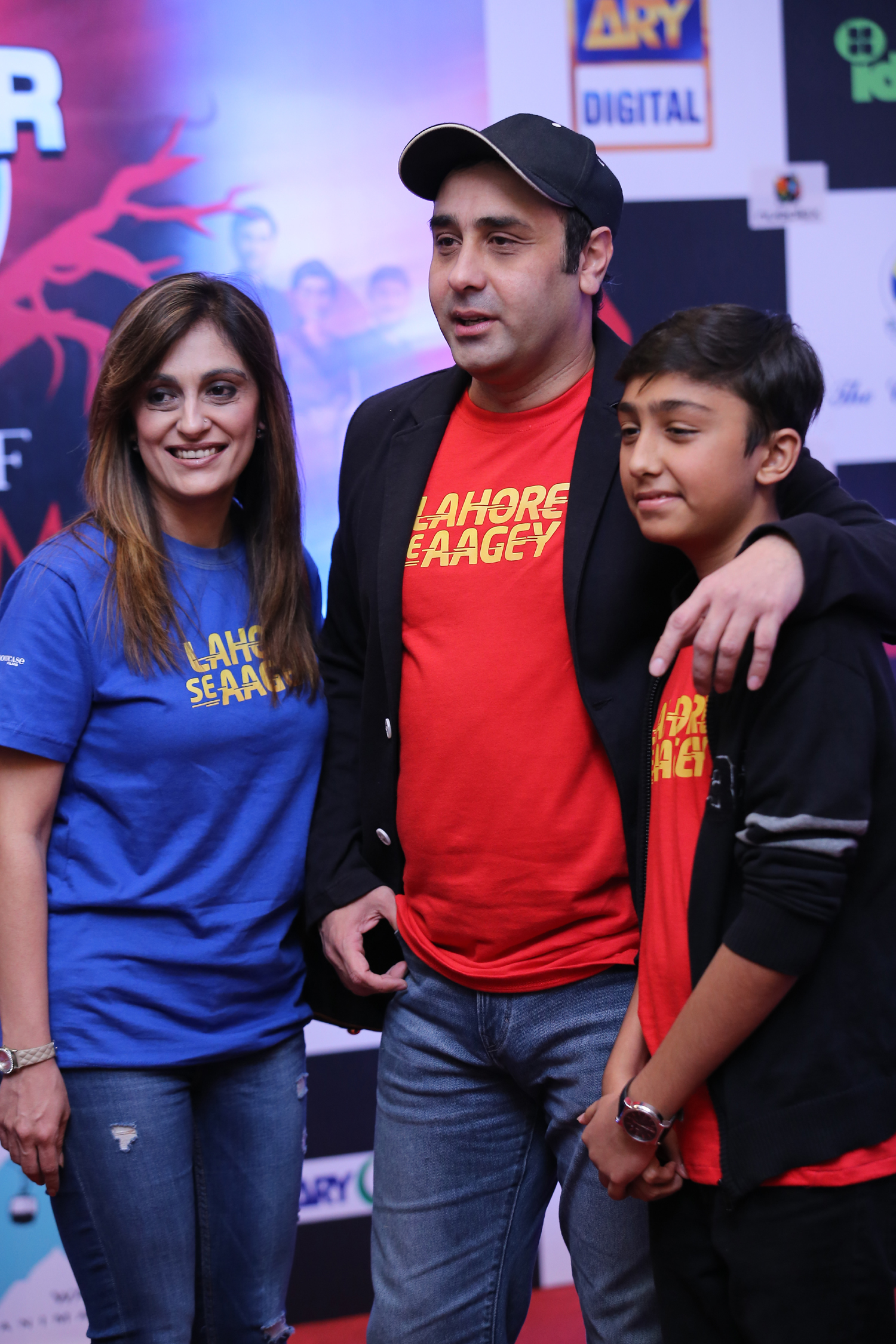 Wajahat Rauf with his family