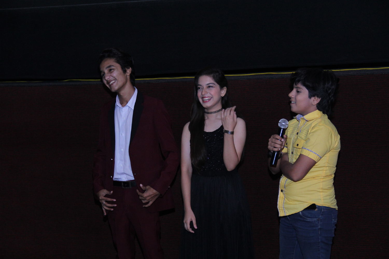 Zuhab Khan, Arisha Razi and Hanzala Shahid