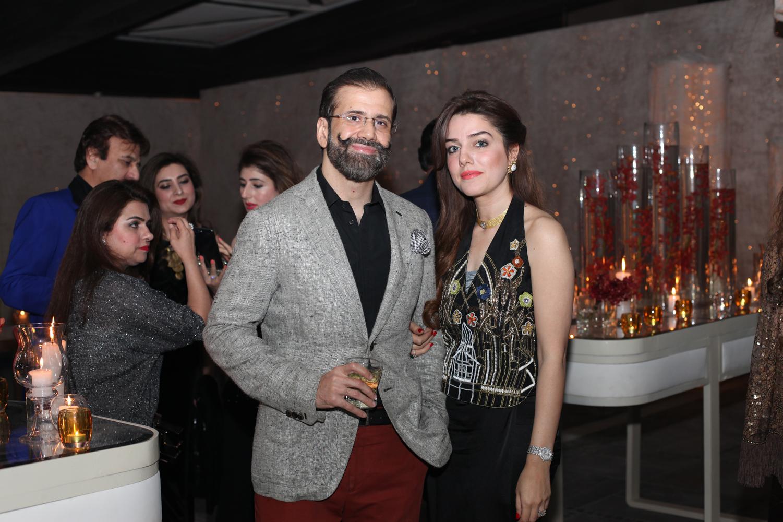Nasir and Amna Kasuri
