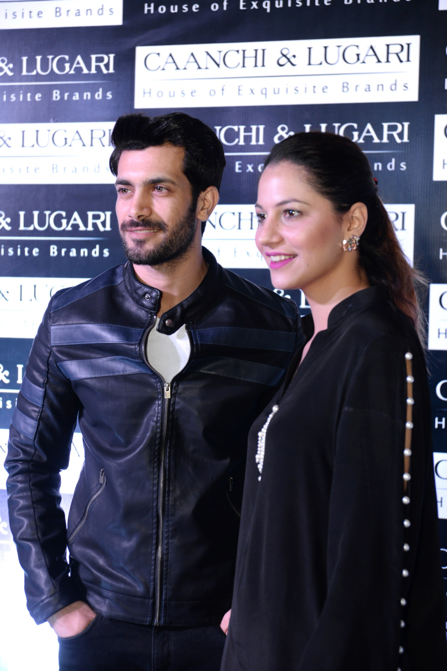 Shahzad Noor and Cybil Chowdhry