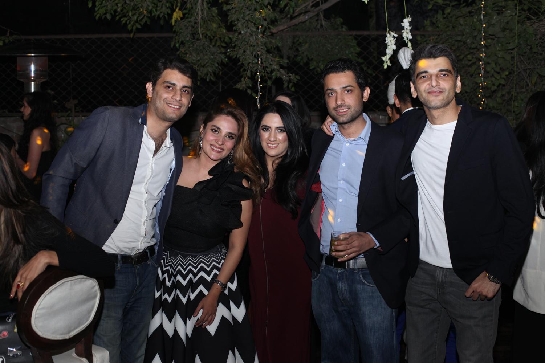 Salman, Momi, Nadira, Suleman and Adnan